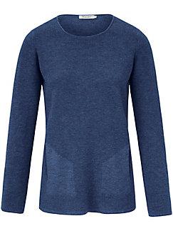 MAERZ Muenchen - Round neck jumper in 100% new milled wool