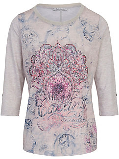 Betty Barclay - Round neck top with 3/4-length sleeves