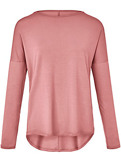DAY.LIKE - Round neck top with overcut shoulders