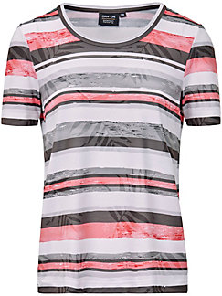 Canyon - Round neck top with short sleeves