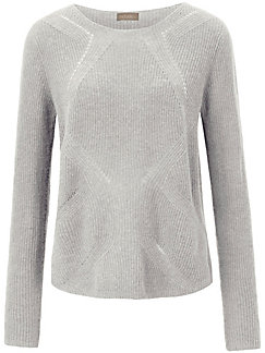 include - Rundhals-Pullover in gerader Form