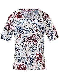Schneiders Salzburg - Rundhals-Shirt mit Blüten-Print