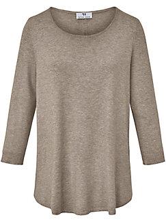 Peter Hahn - Rundhalsad tröja med 3/4-ärm