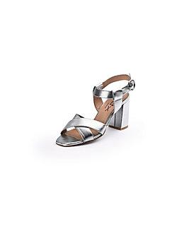 Looxent - Sandale im trendigen Metallic-Look