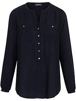 Basler - Schlupf-Bluse in 1/1 Arm mit längerer Knopfleiste