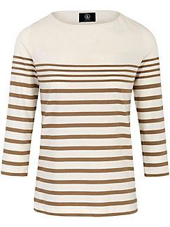 Bogner - Shirt met lichte boothals en 3/4-mouwen