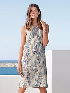 Peter Hahn - Sleeveless dress in 100% linen