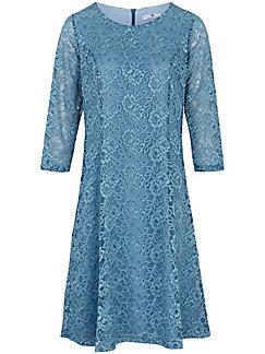 Peter Hahn - Spitzen-Kleid mit 3/4 Arm