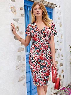 30499fe6b5d Uta Raasch - Jersey dress with 1 2-length sleeves