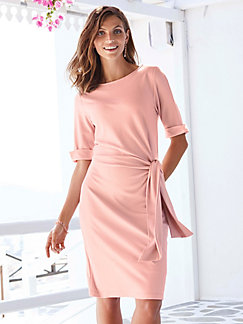94846b716166aa Uta Raasch - Jersey-Kleid mit 3 4-Arm