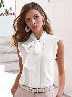 a77313346aadc Uta Raasch - Sleeveless blouse in 100% silk