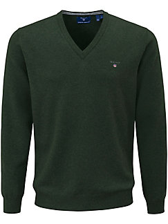 GANT - V-Pullover aus 100% Lambswool