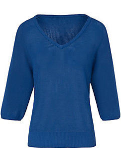 DAY.LIKE - V-Pullover aus 100% SUPIMA®-Baumwolle