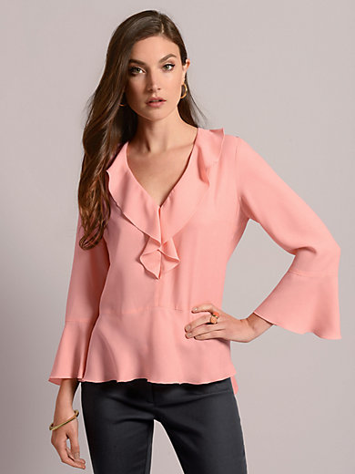 Airfield - Blouse with V-neck
