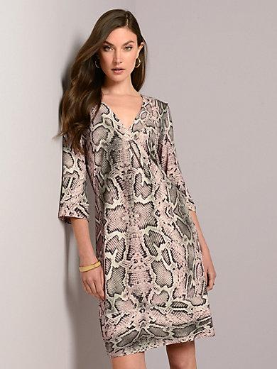 Airfield - Jersey-Kleid mit Snake-Print