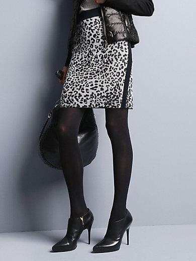 Airfield - La jupe léopard en maille