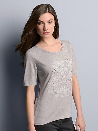 Airfield - Shirt met ronde hals en korte mouwen