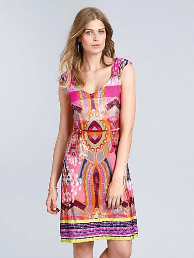 Ana Alcazar - Jersey-Kleid mit V-Ausschnitt