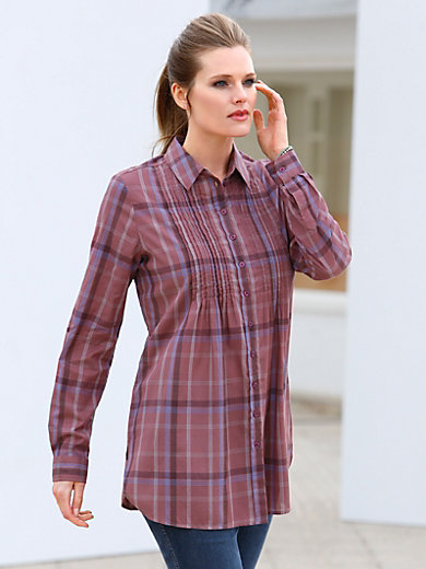 Anna Aura - Blouse with roll-up sleeves