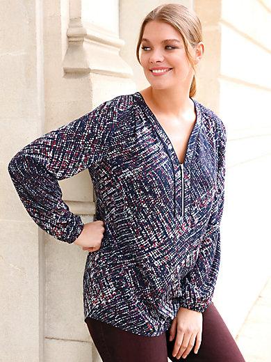 Anna Aura - Blouse with zip fastener