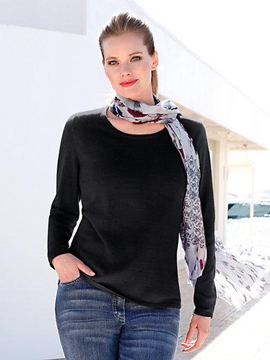 Anna Aura - Bluse med rund hals