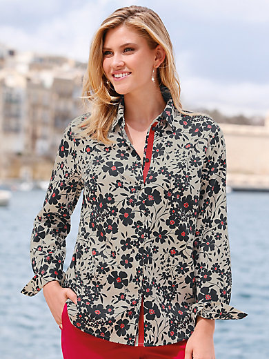 Anna Aura - Bluse mit Hemdkragne