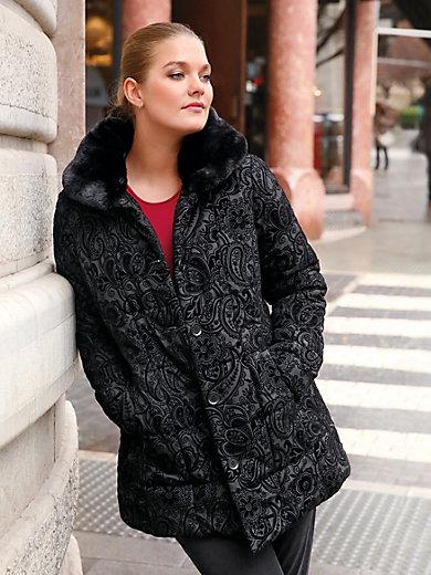 Anna Aura - Jacke mit superedlem Flockprint