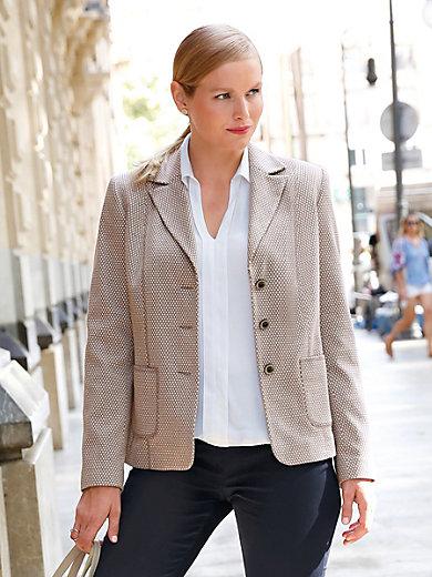 Anna Aura - Jersey-Blazer mit Jacquard-Muster