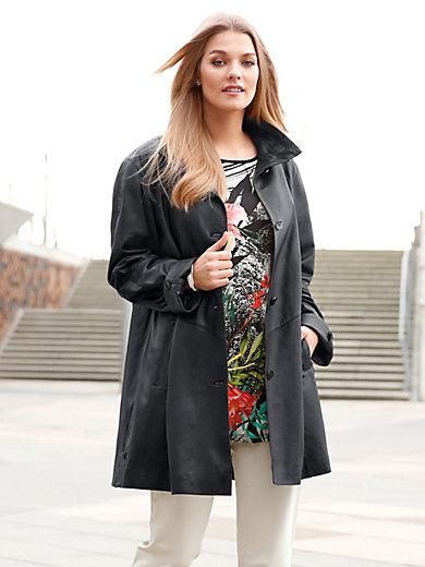 Anna Aura - Leather swinger coat