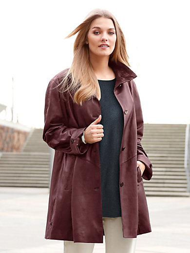 Anna Aura - Leather swinger coat