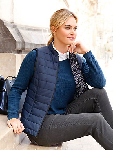 Anna Aura - Reversible quilted waistcoat