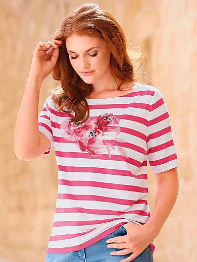 Anna Aura - Shirt mit leichtem U-Boot-Ausschnitt