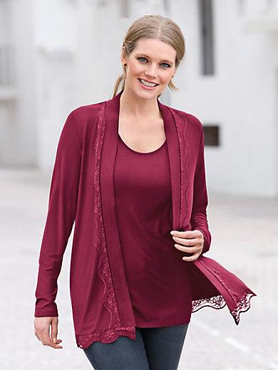 Anna Aura - Shirtjakke med lidt mere længde
