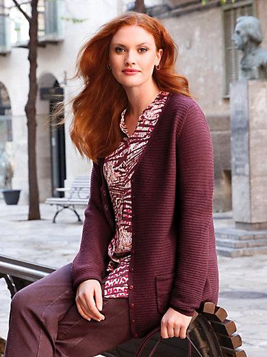 Anna Aura - Strickjacke aus 100% Schurwolle von Biella Yarn