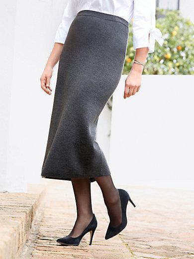 Anna Aura - Striknederdel 100% ren ny uld