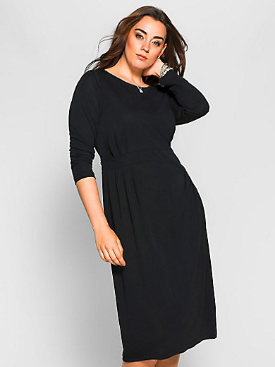 Anna Scholz for sheego - La robe en jersey, encolure dégagée