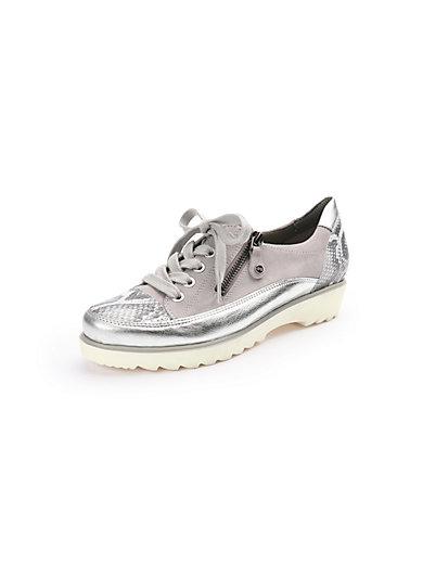 Les sneakers en cuir velours et cuir nappa Geox gris zdRE09nnHb