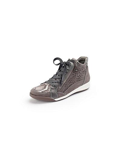 ARA - Sneakers af oksenubuck og nappa