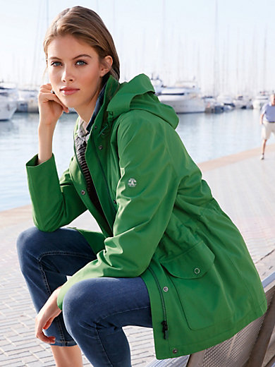 Barbour - Jacket with detachable hood