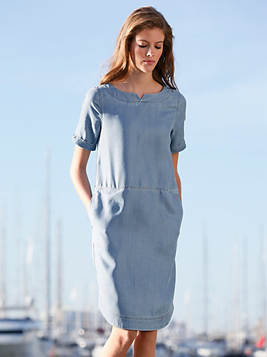 Barbour - Jeans-Kleid zum Schlupfen