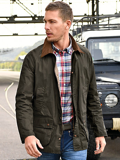 Barbour - Windproof and waterproof waxed jacket
