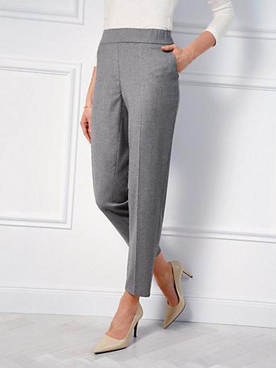 Basler - Ankle-length slip-on trousers