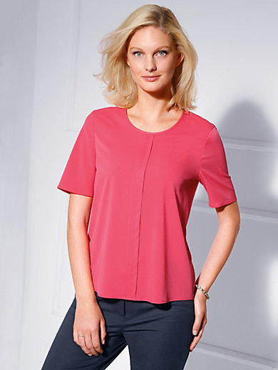 Basler - Blouse with short sleeves