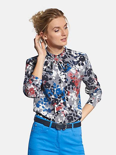 Basler - Bluse mit abnehmbarer Schluppe