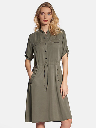 Basler - Dress with roll-up sleeves
