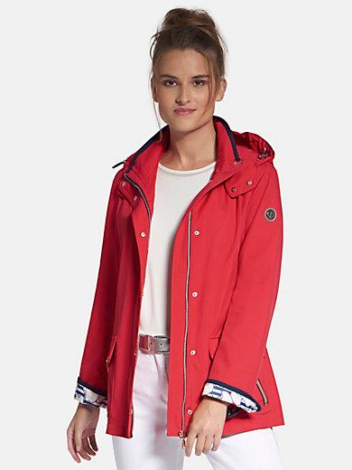 Jacke rot kapuze