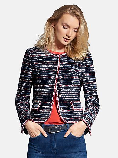 Basler - Jacke mit Struktur-Streifen