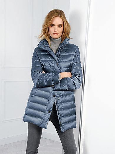 Basler - La veste doudoune longue déperlante, col officier