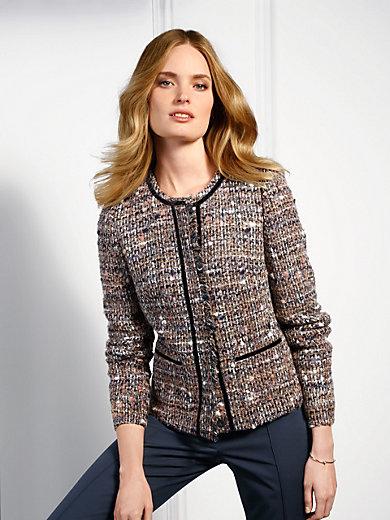 Basler - La veste en tissu bouclette, encolure dégagée