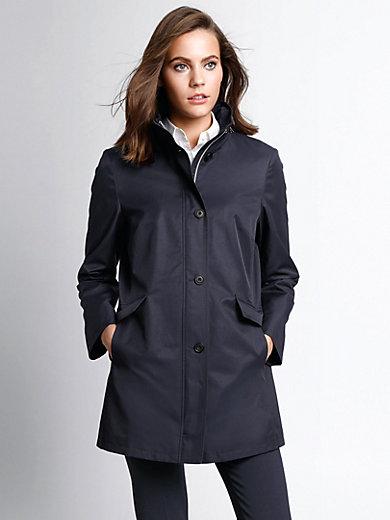 Basler - La veste longue à capuche, col officier